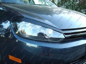 Fiberglass-Headlight-Eyebrows-Eyelids-for-09-13-VW-Golf-MK6-GTI-2010-2012-2011