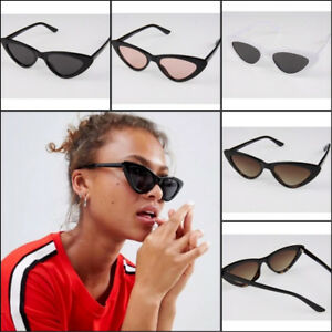 New Celeb Style Retro Cat Eye Sunglasses Ladies Mens Womens ... 9970952f2912