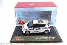 Suzuki Swift Australia Melbourne Police 1:43 IXO JCL VOITURE DIECAST MODEL JC157