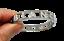 miniatuur 69 - Bracciale da donna in acciaio inox rigido a manetta con nome in zirconi bianchi