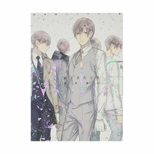 Ten Count Rihito Takarai Illustrations Art Book Mirror BL Manga Yaoi