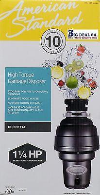 American Standard 1hp Kitchen Waste Disposer Food Garbage