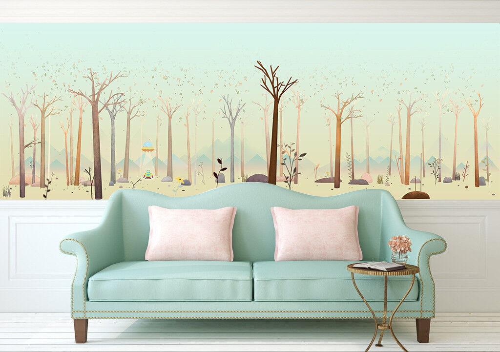 3D Karikatur Wälder 8809 Tapete Wandgemälde Tapeten Bild Familie DE Jenny | Optimaler Preis  | Up-to-date-styling  | Zarte