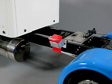 Wheel Rim Tire Red Chock Stopper for Tamiya R/C 1/14 King Knight Grand Hauler