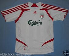 LIVERPOOL FC / 2007-2008 Away - ADIDAS - Junior Shirt / Jersey. Size 12y, 152 cm