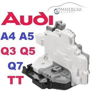 Serratura-Chiusura-Porta-Posteriore-Sinistra-Lato-Guida-Audi-A4-A5-Q3-Q5-Q7-TT