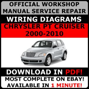 image is loading official-workshop-repair-manual-for-chrysler-pt-cruiser-