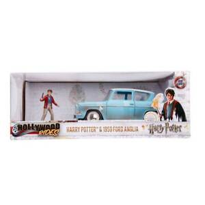 Jada-Hollywood-Rides-1959-Ford-Anglia-amp-Harry-Potter-1-24-Scale