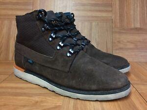 RARE-VANS-Breton-Winter-Boots-Vibram-Soles-Sz-8-5-Men-s-Fashion-Sneakers-LE
