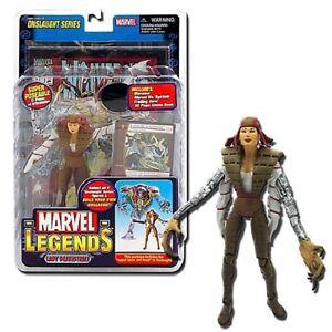 Marvel-Legends-Lady-Deathstrike-amp-Head-Torso-Of-Onslaught-Comic-Card