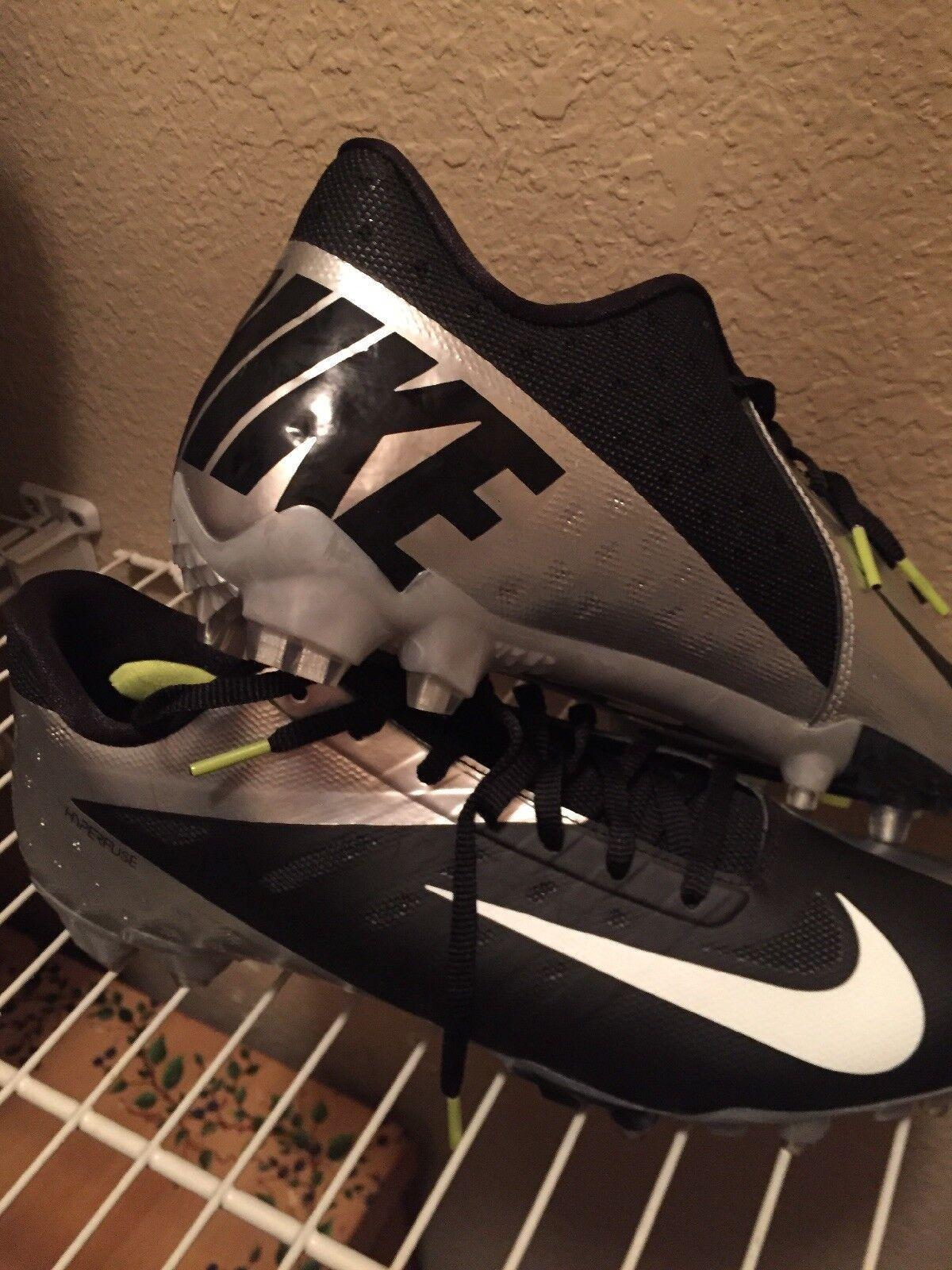 Nike carbon vapor cleats size 11.5