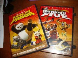 2 Dvd Lot Kung Fu Panda Secrets Of The Furious Five Ebay