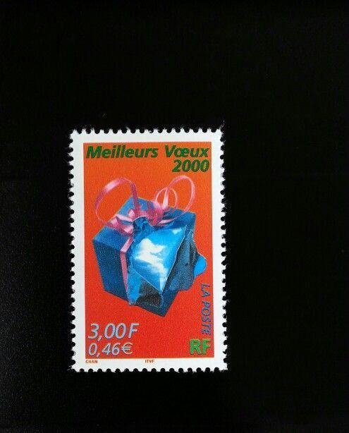 1999 France Best Wishes for Year 2000 Scott 2745 Mint F