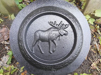 Snail mini birdbath mold concrete plaster mold casting reusable plastic mould