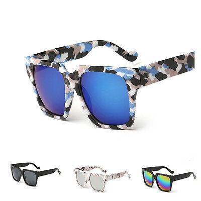 Women's Men's Retro Mirrored Sunglasses Outdoor Driving Eye Glasses Eyewear New