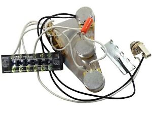 image is loading solderless-stratocaster-strat-wiring-harness-mounted-on- shield-