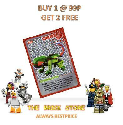 CREATE THE WORLD TRADING CARD LEGO GIFT NEW #033 CHAMELEON BESTPRICE