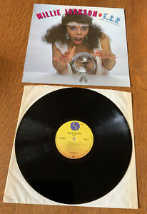 Millie Jackson~E.S.P. German Pressed Vinyl LP. 1983. SIRE 25-0382-1. NEAR MINT.