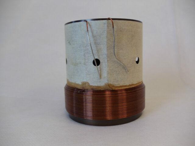 """3"""" Dual 0.8 Ohm  Voice Coil 4 Layer Subwoofer Speaker Parts  VC040645"""