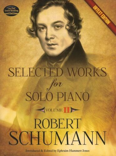 Robert Schumann Selected Works For Solo Piano Urtext Edition Play Music Book 2