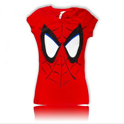 Womens Juniors size  Funny T-Shirt Spider Man All Sizes S M L XL Free ship to US