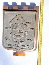 DUNKERQUE - CUIRRASE  NAVIRE DE LIGNE   -  RARE GRANDE  TAPE BOUCHE