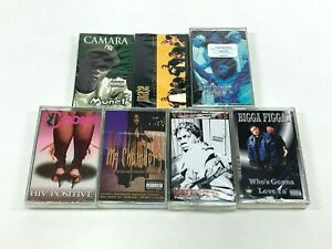 Lot-7-Cassette-Tapes-Explicit-Rap-Hip-Hop-90-039-s-Mase-Bigga-Figgas-Choice-SEALED