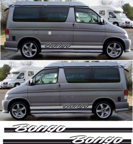 Mazda Bongo Friendee bandes latérales autocollants decals auto Free Top Aero toute couleur