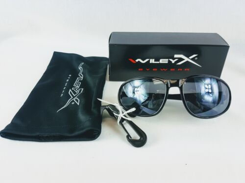NEW Wiley X Romer 407 Smoke Grey Sunglasses