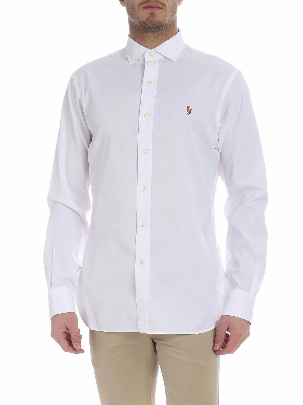 Ralph Lauren Men's Clothing Shirts - 712744645001   White   Spring Summer 19