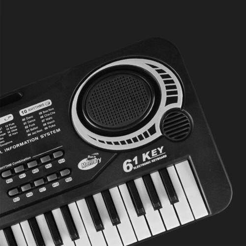 Digital 61Tasten Keyboard E-Piano Klavier Elektrische Kinder Klaviertastatur NEU