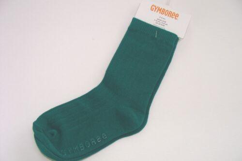 Gymboree Basic Green Socks Boys Size 2 3 Years NEW NIB Loch Ness Heroes