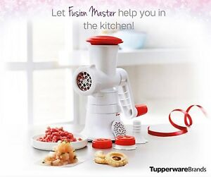 New-Tupperware-Fusion-Master-Mincer-Free-Cookies-Insert
