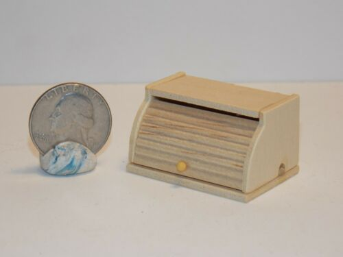 Dollhouse Miniature Kitchen Bread Box 1:12 one inch Scale F12A Dollys Gallery