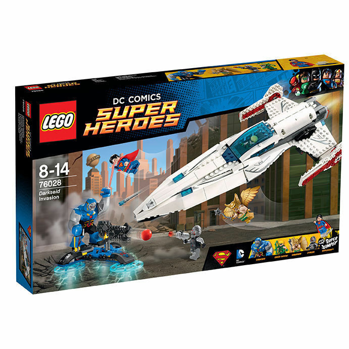 LEGO® Super Heroes 76028 Darkseids Überfall Justice Legue Superman Neu OVP New