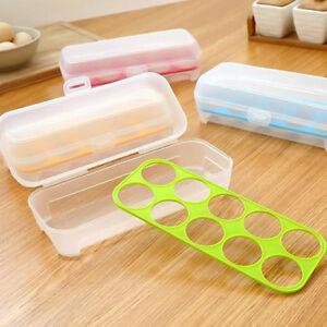 Plastic-Refrigerator-Eggs-Storage-Box-10-Eggs-Holder-Food-Storage-Case-G