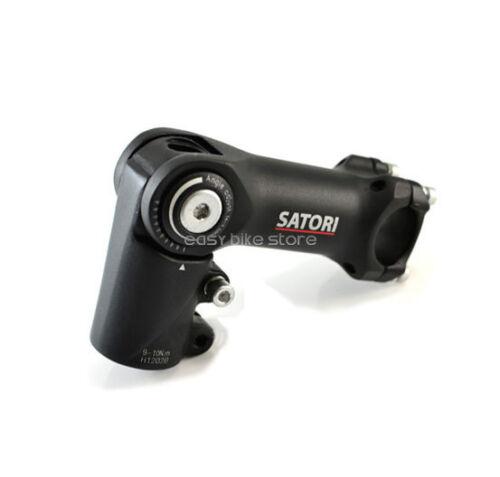 """SATORI Heads-Up Stem Angle Adaptor 1-1//8/"""" Stem 25.4mm x 90mm"""