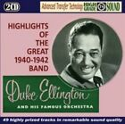 Highlights of The Great 1940 - 1942 Band Avid 0000 Audio CD