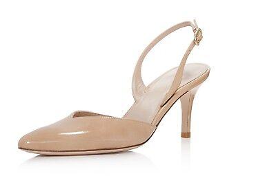 d51700d7c293 Stuart Weitzman Womens Women s Sleek Patent Leather Slingback PUMPS ...