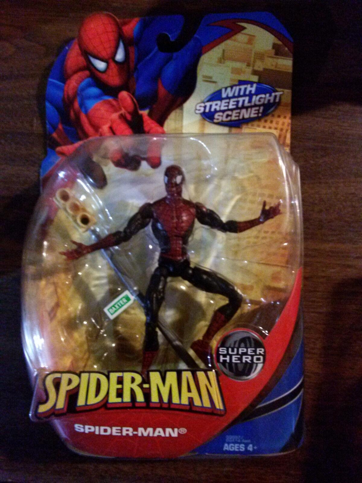 Marvel mcfarlane smc spider - man toybiz straßenszene neue selten