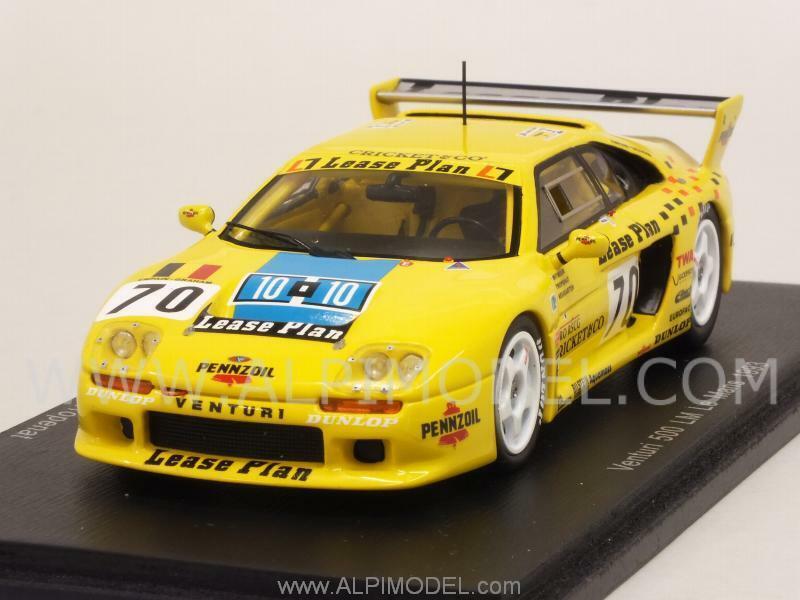 Venturi 500 LM Le Mans 1993 Witmeur - Neugarten -Tropenat 1:43 SPARK S2277