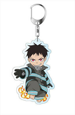 Fire Force Maki Oze Key Chain Clip Hook Keychain Key Pendant Key Buckle Keyring