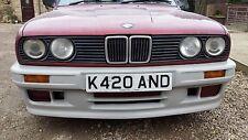 BMW E30 M-tech 2 PARAURTI ANTERIORE 1984-1991 - NON VERNICIATA-NUOVO di zecca!