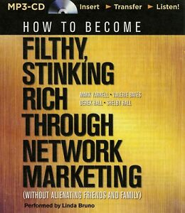 How-to-Become-Filthy-Stinking-Rich-Through-Network-Marketing-MP3CD-Audiobook