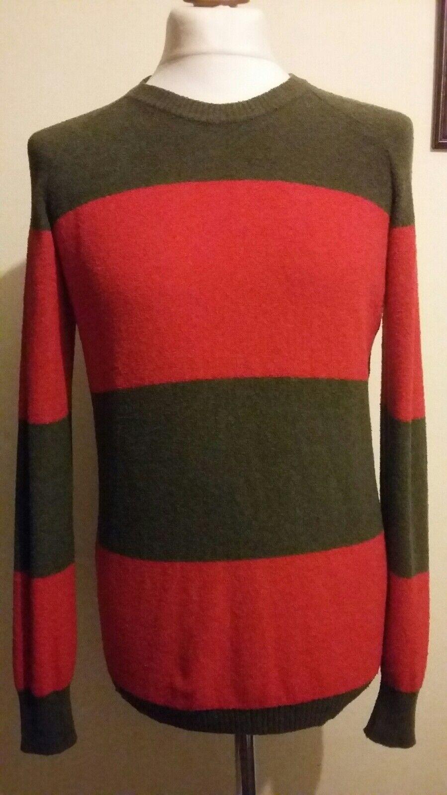 DIESEL K-Newy Maglia Sweatshirt Jumper Größe Small