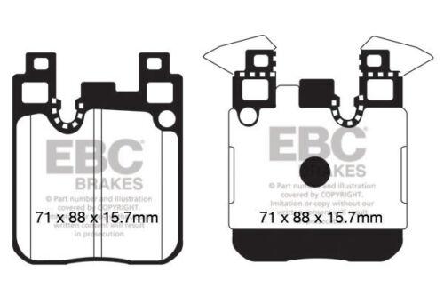 EBC YellowStuff Rear Brake Pads for BMW 335 3 Series 3.0TD F30 313 13 DP42133R