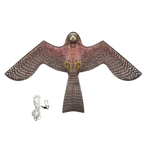 Bird Scarer Repeller Flying Hawk Kite Garden Scarecrow Yard House Decor A