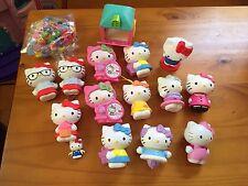 Hello Kitty McDonald's Toys Small Plastic Figures & Hello Kitty Plastic Beads