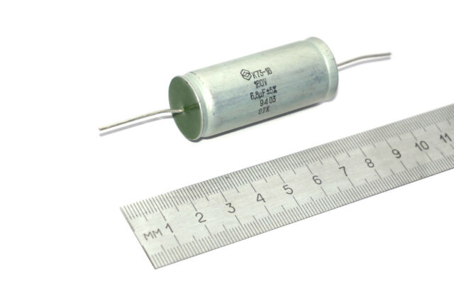 0.22uF 400V 10/% K73-11 PETP Polyethylene Film USSR Audio Capacitors Lot of 20