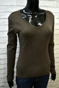 TOMMY-HILFIGER-Donna-Maglia-Blusa-Taglia-M-Maglietta-Shirt-Woman-Jersey-Hemdfrau